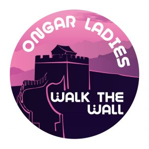 Ongar Walk The Wall Logo