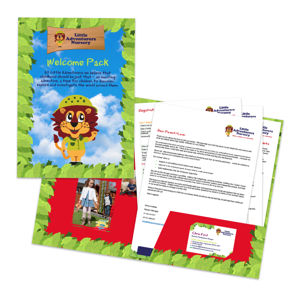 Nursery presentation packs